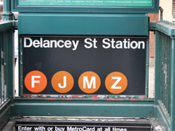 Delancy Street subway station